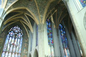 view in cathedral  inside by ingeline-art