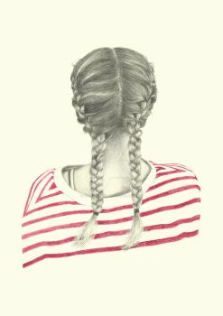 French braids by birgithececilie