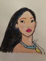 Pocahontas by inkandstardust