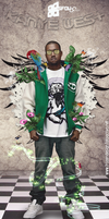 Kanye West by SFDK