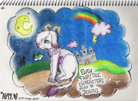 even fairy tale characters... by undeadamy