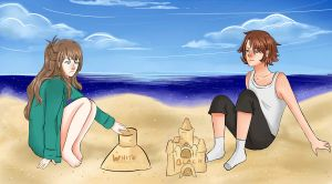 Sand Castle Competition by iam-hungry