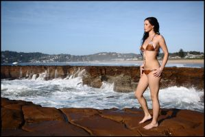 Stacey - Avoca rocks 2 by wildplaces