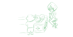 Steven and Peritot do Dishes by GarPolky