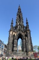 Scott Monument 1 by High-Tech-Redneck