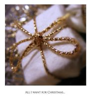 All I want for Christmas... by VeraCotuna