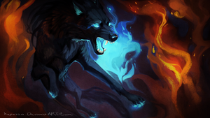 Flammable Bight by Keprion