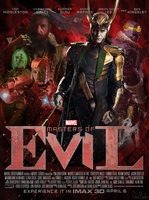 Masters of Evil Poster by Bort826TFWorld