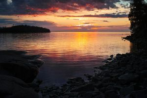 Sunset... Valaam Islands... _3_ by my-shots