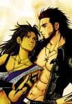 Art trade - Gladiolus - Fang Couple by MCAshe
