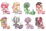 SLUGOII ADOPTS: OPEN !! (New traits Introduced) by Getanimated