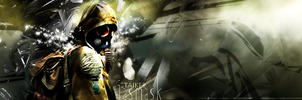 Signature: S.T.A.L.K.E.R - Gasmask by MsterDeth