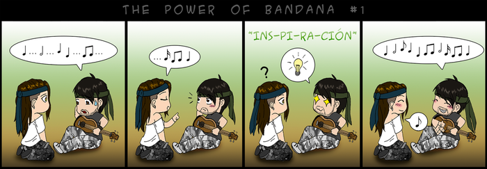 The power of bandana #1 by Soldream