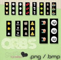Pack de Orbs Super Cutes png y bmp by a-Sonrix