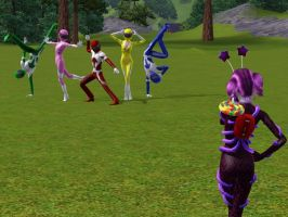 Power Rangers The Sims 3 by tyrblue