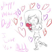 Happy Valentine's Day! 2013 by AdenChan