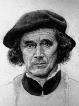 Mark Rylance as Thomas Cromwell by bris1985