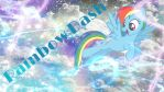 Rainbow Dash WallPaper by NelaRarity