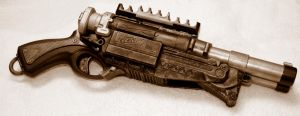 Steampunk Nerf Barrel Breaker2 by JohnsonArms