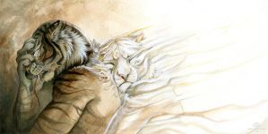 I am here by AlectorFencer