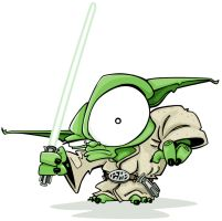 YODA by mattcandraw