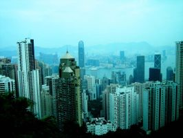 Hong Kong by Gillander
