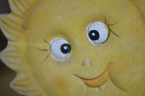 Sunny face by canciondemedianoche