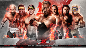 Wwe 2k15 Wallpaper by T1beeties