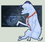 PS: Le Chien Bleu. by run-jump-fly