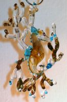 Seahorse Pendant - commissioned work by Glasmagie