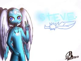 Steve color in iPad by CAMURI2233