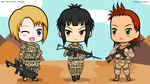 Chibi Warfighters by EVOV1