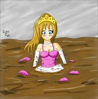 Sinking Princess :3 by Lady-of-Mud