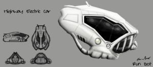 Runbot Concept Art Car by KevinMassey