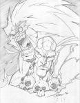 Blanka and Dhalsim by StevenSanchez