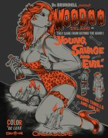 Dr Brundell's Voodoo Island by WacomZombie