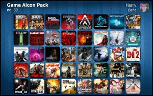 Game Aicon Pack 89 by HarryBana