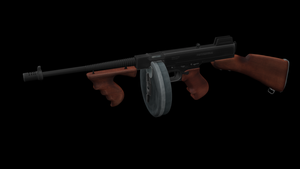 Thompson Model 1928 by Furious-Midget