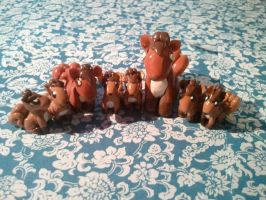 Vulpix Army Attack!! by Nevi-Lamina