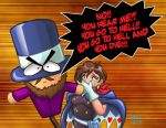 Trucy Wright and Mr. Hat by ARNie00