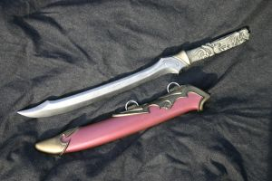 Elven short swords . revised by DragonArmoury