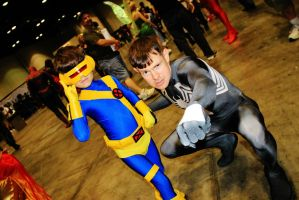 Cyclops And Spidey By Danny Hunter by ComicChic19