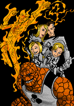 Daily Sketch - Future Foundation by glovesker