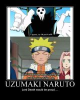 Uzumaki Naruto / Soul Eater Motivational Poster by WithinTheCosmos