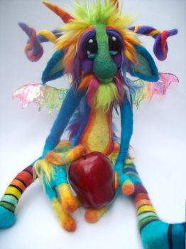 Pixie Stix Goblin by Tanglewood-Thicket
