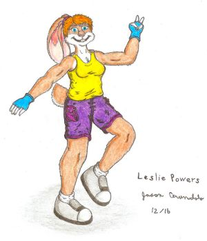 Leslie Powers - New Bio by AnthroLoverJay