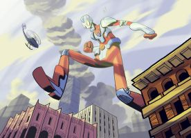 Ultraman by splendidriver