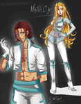 Bleach - Main Quincy OCs by MyangHime