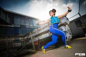 Street Fighter, Chun-Li:''Practice makes Perfect'' by 14vegeta