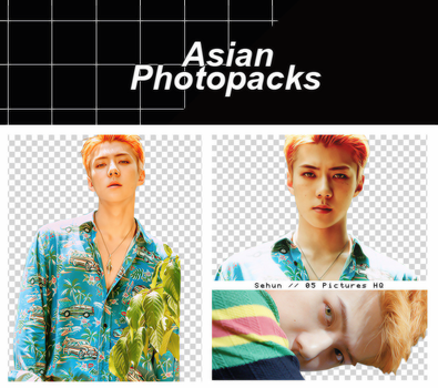 Pack Png 090 // Sehun (EXO) (THE WAR). by xAsianPhotopacks
